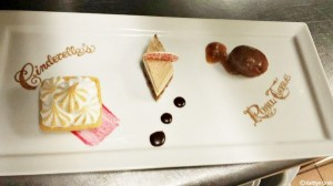 Chef's Dessert Trio Dessert