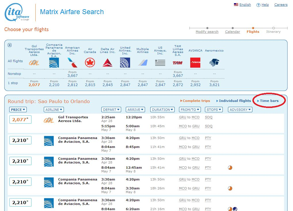 Matrx AirFare - Flights