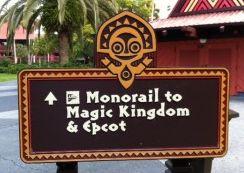 Disney´s Polynesian Resort - Monotrilho