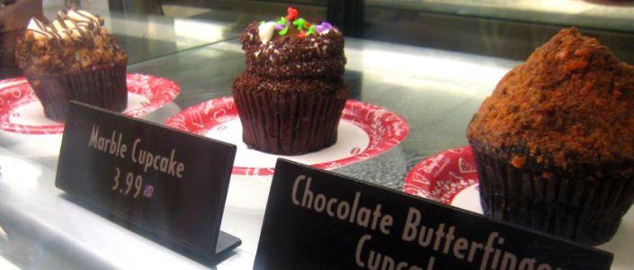 Starring Rolls Cafe Cupcake