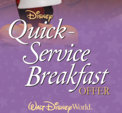 Quick Service Breakfast Offer 2014