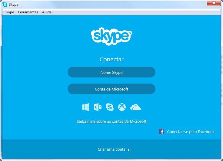 Ligação Internacional - Skype