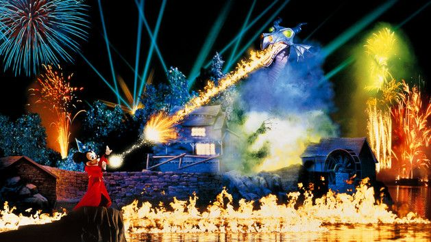 IndoParaDisney - Fantasmic!