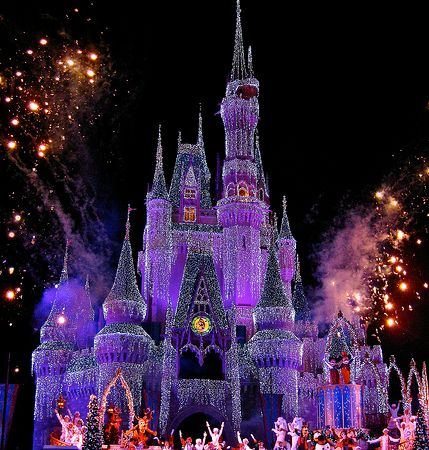 Mickey's Very Merry Christmas Party - Castelo da Cinderella