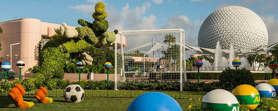 2014 World Cup Epcot - Flower Garden Festival