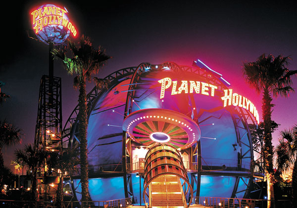 Planet Hollywood - Original Exterior