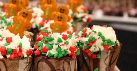 Cupcakes Gingerbread
