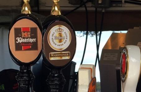Cervejas no Bauernmarkt