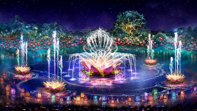 Rivers of Light - Show de Luzes