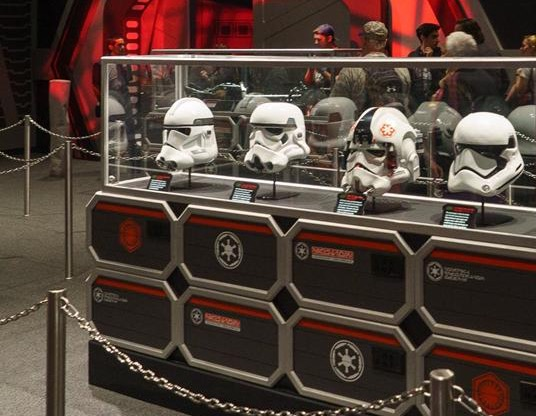 Star Wars Launch Bay Troopers Helmet