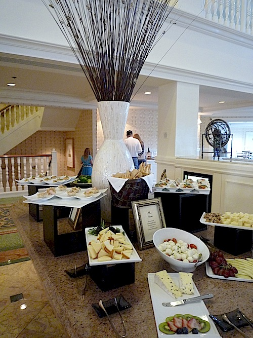 Grand Floridian Concierge Food