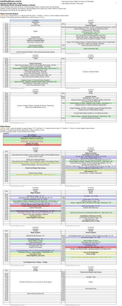 Planilha de Atividades 2017