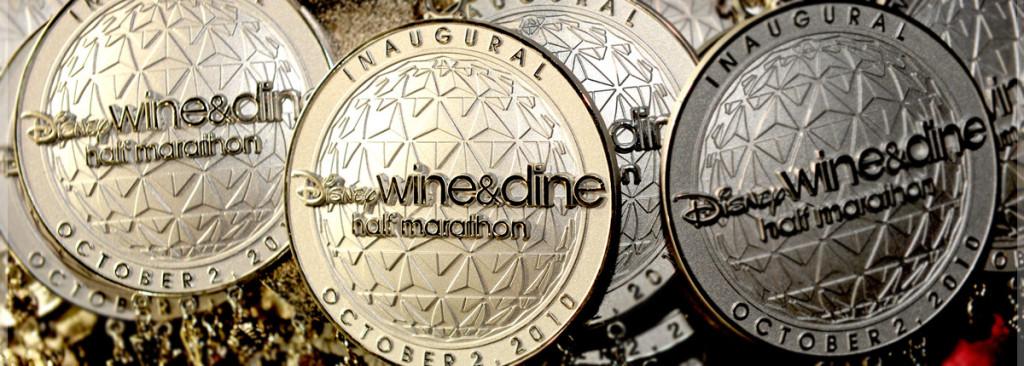 Wine and Dine medalhas