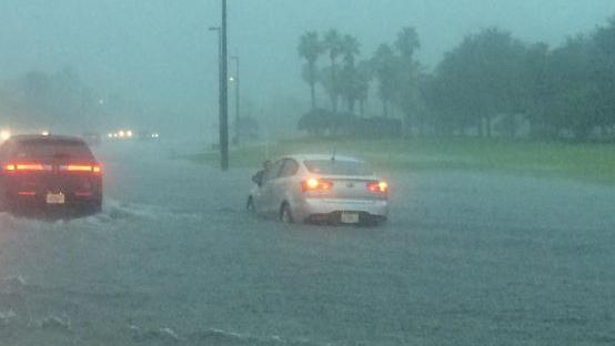 Inundação International Drive - SeaWorld