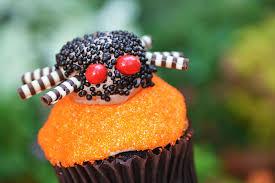 Spider Cupcake na Main Street Bakery