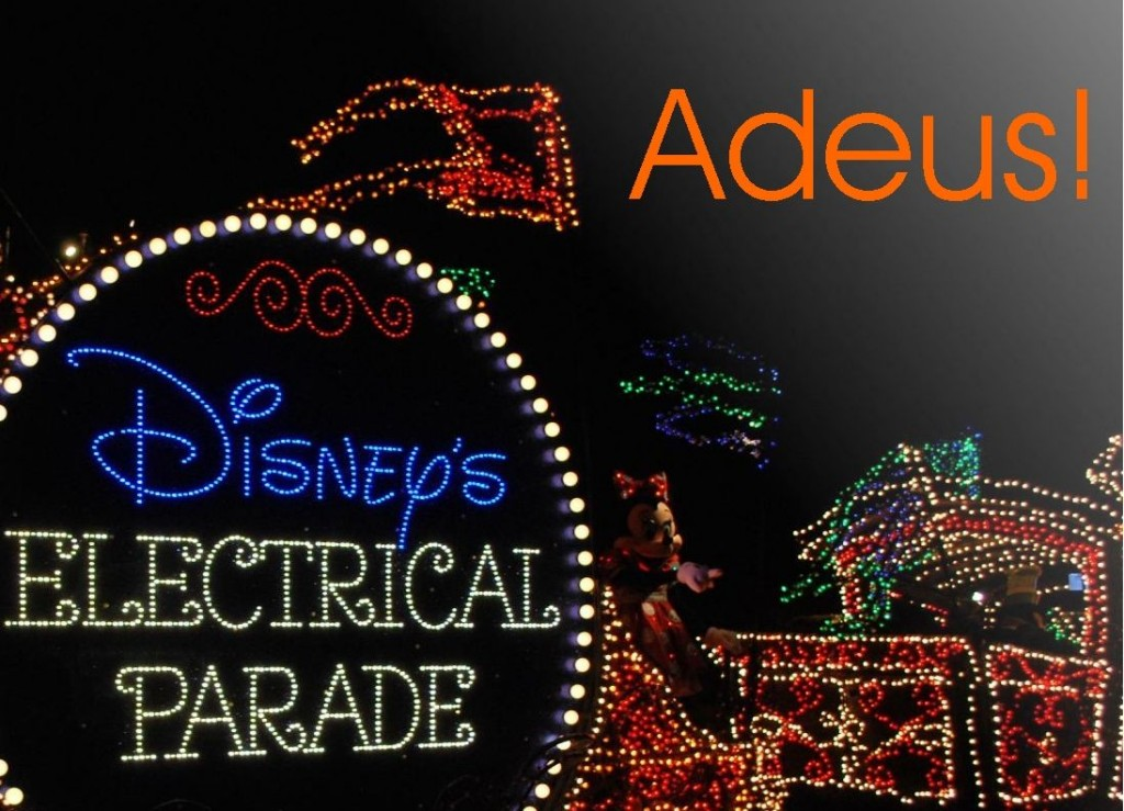 Adeus Main Street Electrical Parade