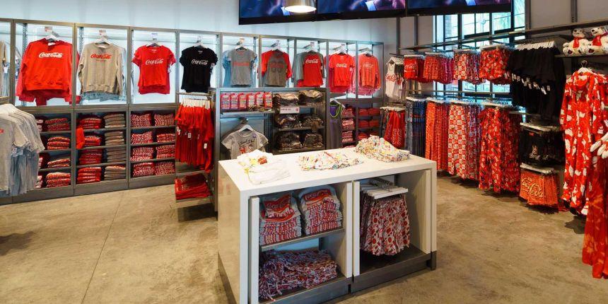 Coca Cola Store - Roupas