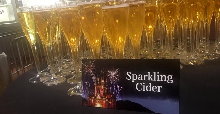 Happily Ever After - Fireworks Dessert Party - Sparkling Cider