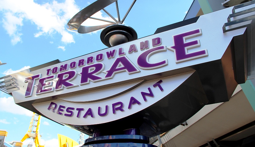 Tomorrowland Terrace Restaurant Magic Kingdom