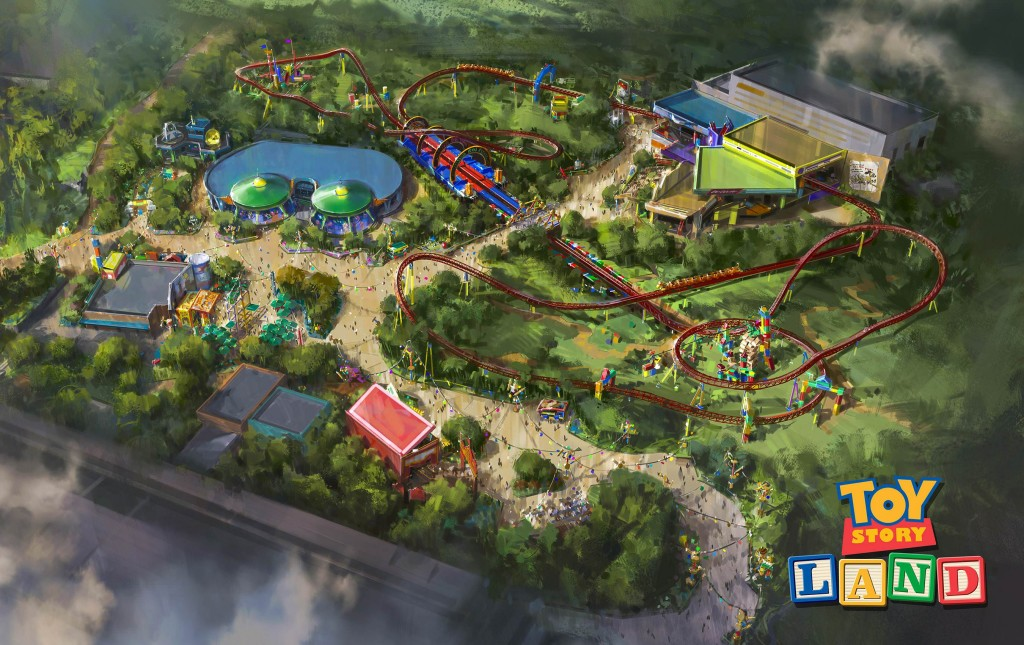 Toy Story Land - área